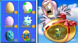 BUY the MOST EXPENSIVE EGG! (ROBLOX MINING SIMULATOR)
