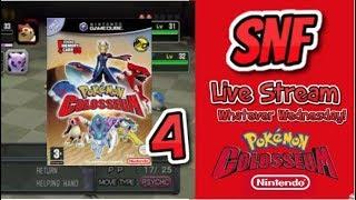 Pokemon Colosseum PART 4 Miror B Hideout! Whatever Wednesdays EP 3 | Nintendo GameCube | SNF