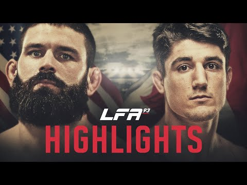 LFA 93 Highlights: Petroski vs. Jeffery