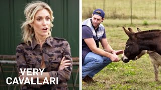 Kristin Cavallari & Jay Cutler Look for a Pet Mini Donkey | Very Cavallari | E!