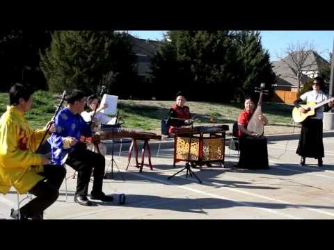 Chinese Folk Music Instruments Band  New Year 2013  Library Performance