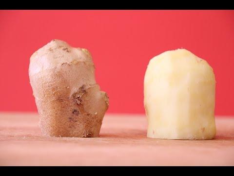 How to Peel Ginger- 3 Methods