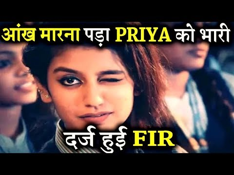 Priya Prakash Varrier In Legal Trouble For Her Viral Clip