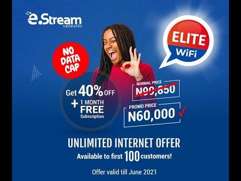 Unlimited Wifi Internet in Lagos