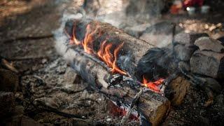 Siberean Survival fire tнat lasts all night