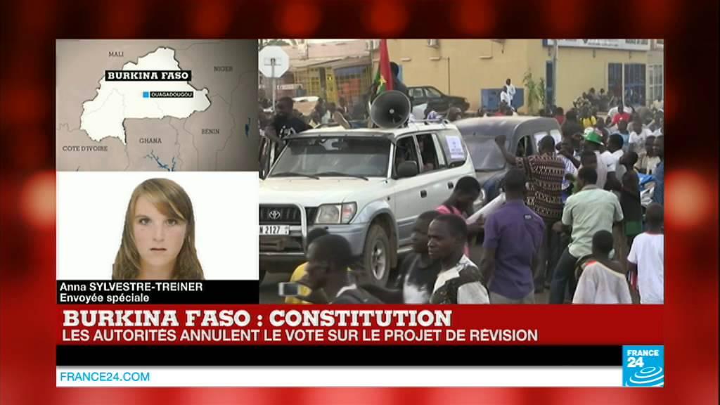 BURKINA FASO : 1 mort à Ouagadougou, coups de feu contre les manifestants