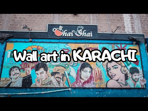 Capture WALL ART in KARACHI | Work-Flow