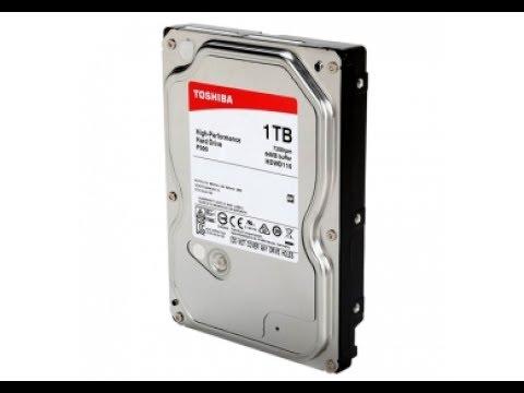 Жесткий диск Toshiba P300 1TB 7200rpm 64MB HDWD110UZSVA 3.5 SATA III