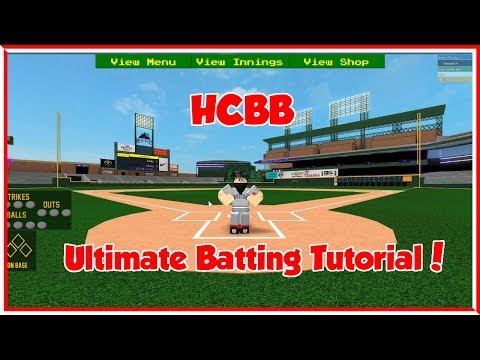 ULTIMATE BATTING TUTORIAL/HOW TO HIT HOMERUNS! | HCBB 9v9 (ROBLOX)