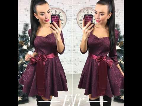 Шьем или просто выбираем фасон модного платья на Новый
