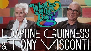 Tony Visconti and Daphne Guinness - What's In My Bag?