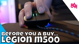 I can't get in to the Legion M500...
