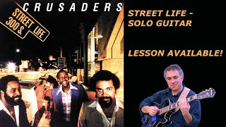 Street Life, The Crusaders, Randy Crawford, fingerstyle guitar, Jake Reichbart