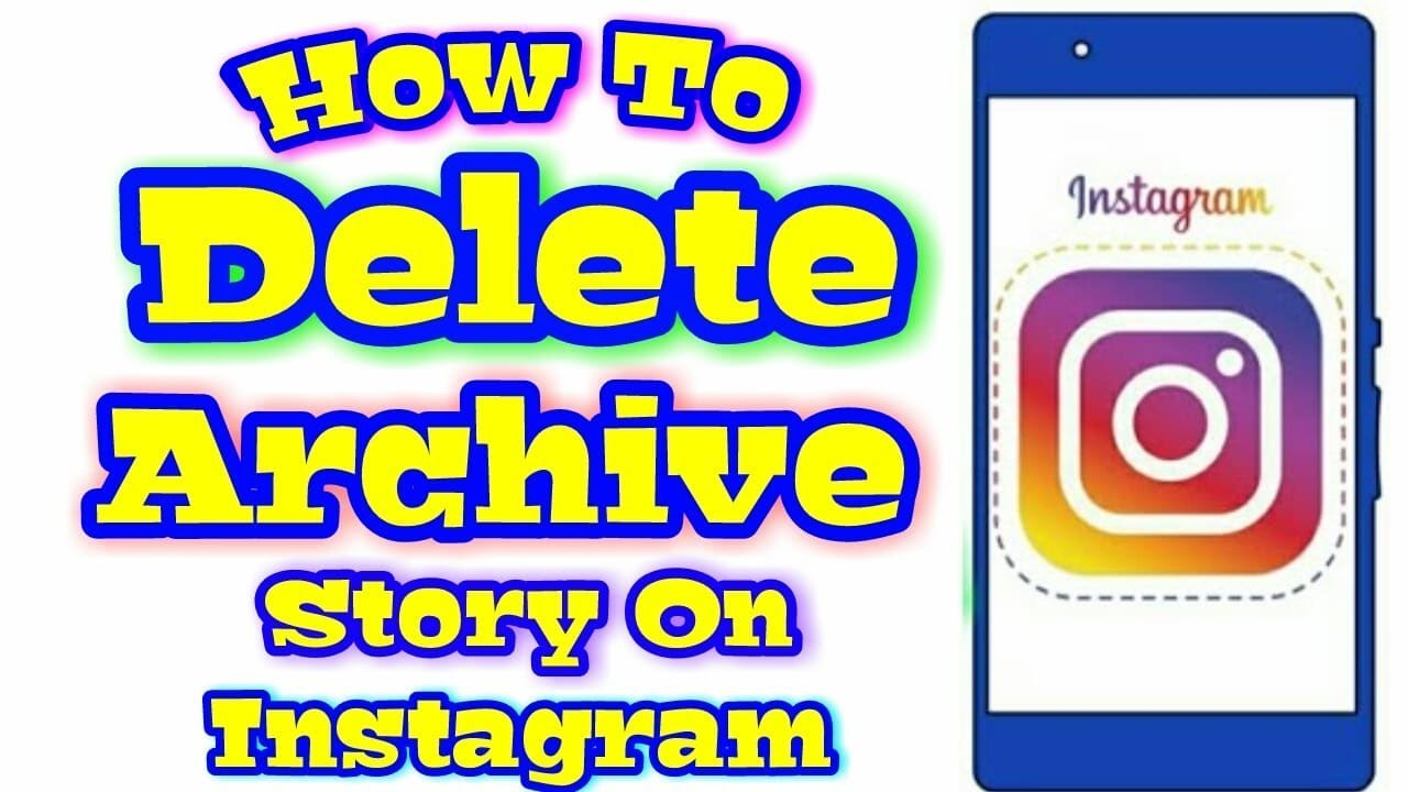 How to delete archived story on instagram in mobile youtube how to delete archived story on instagram in mobile ccuart Images