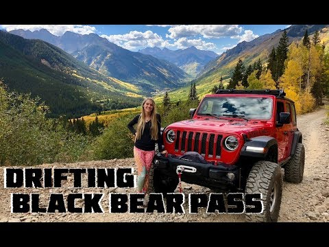 Drifting Black Bear Pass Switchbacks in our 2018 Jeep Wrangler JLU Rubicon from YouTube · Duration:  14 minutes 23 seconds
