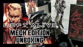 Left Alive Mech Edition Unboxing (With Pre-Order Bonus)