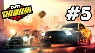 Dirt Showdown Walkthrough: Part 5 YOKOHAMA DOCKS (Gameplay/Commentary) Xbox 360,PS3 PC
