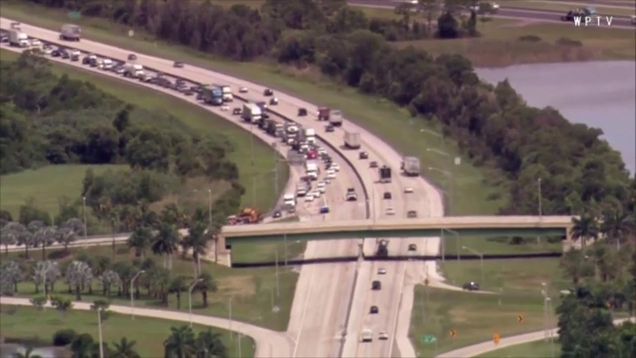 Deadly crash shuts down Turnpike SB in Palm Beach Gardens