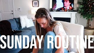 My Sunday Routine | Cleaning, Self Care, Planning, & Meal Prep | RENEE AMBERG