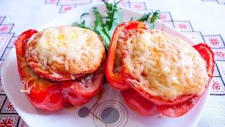 ПЕРЕЦ ФАРШИРОВАННЫЙ Как приготовить фаршированный перец Фарширований перець рецепт з сиром
