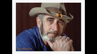 Watch Don Williams Goodbye Isnt Really Good At All video