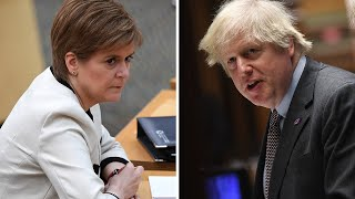 Nicola Sturgeon urges Boris Johnson to cancel Scotland visit as journey 'not essential'