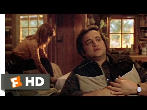 Continental Divide (2/9) Movie CLIP - One Condition -- No Story (1981) HD