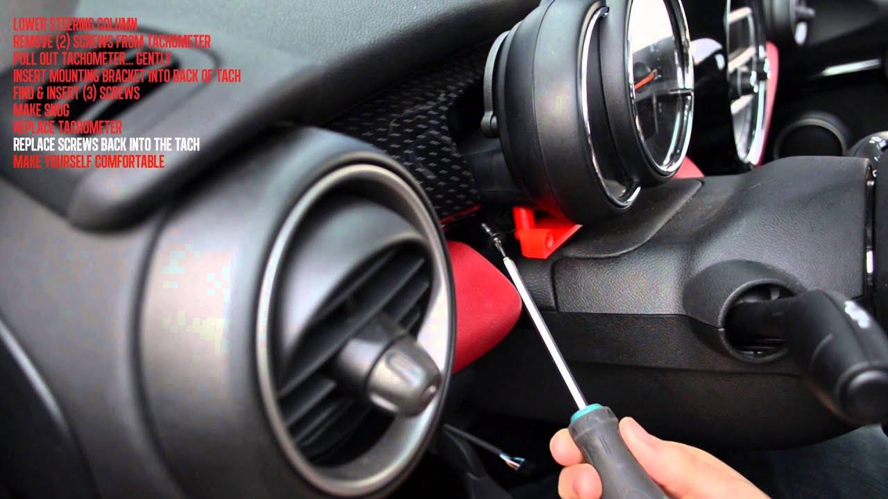 YaaGoo Tachoabdeckung Drehzahlmesser-Abdeckung f/ür Mini 2007-2013 Cooper S one JCW Union Jack