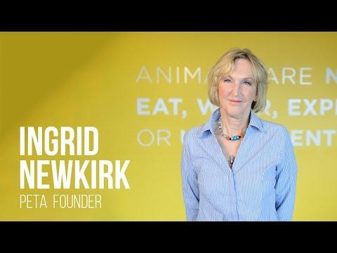 Ingrid Newkirk: PETA's Founder on Euthanasia, Sea World & Vegan Activism