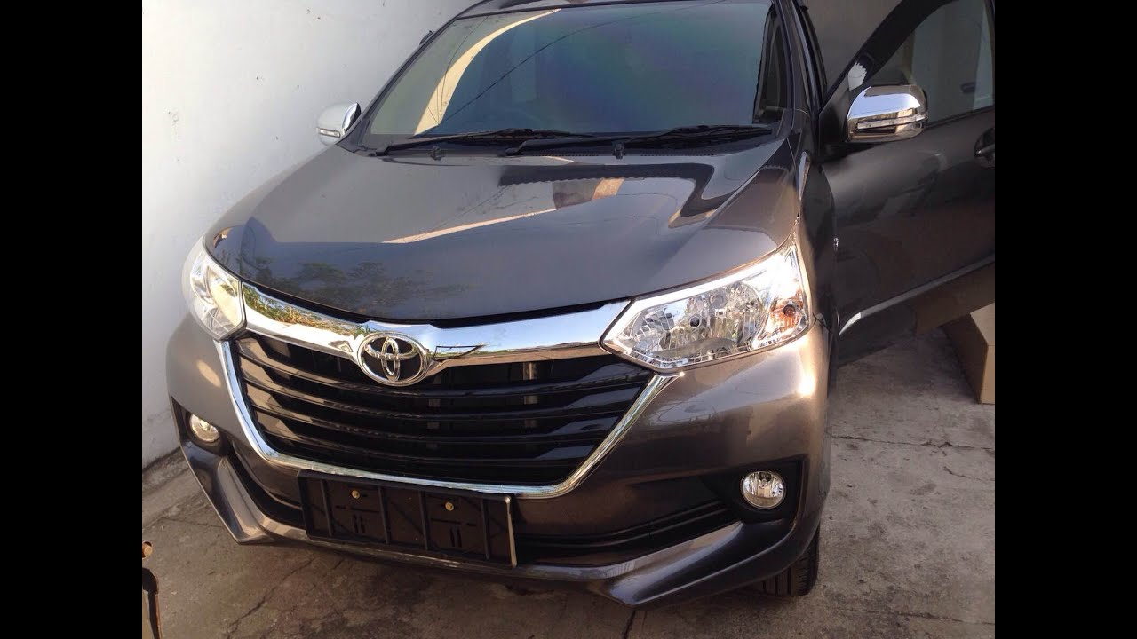 Grand New Toyota Avanza 2015 Yaris Trd Cvt Facelift Review Exterior