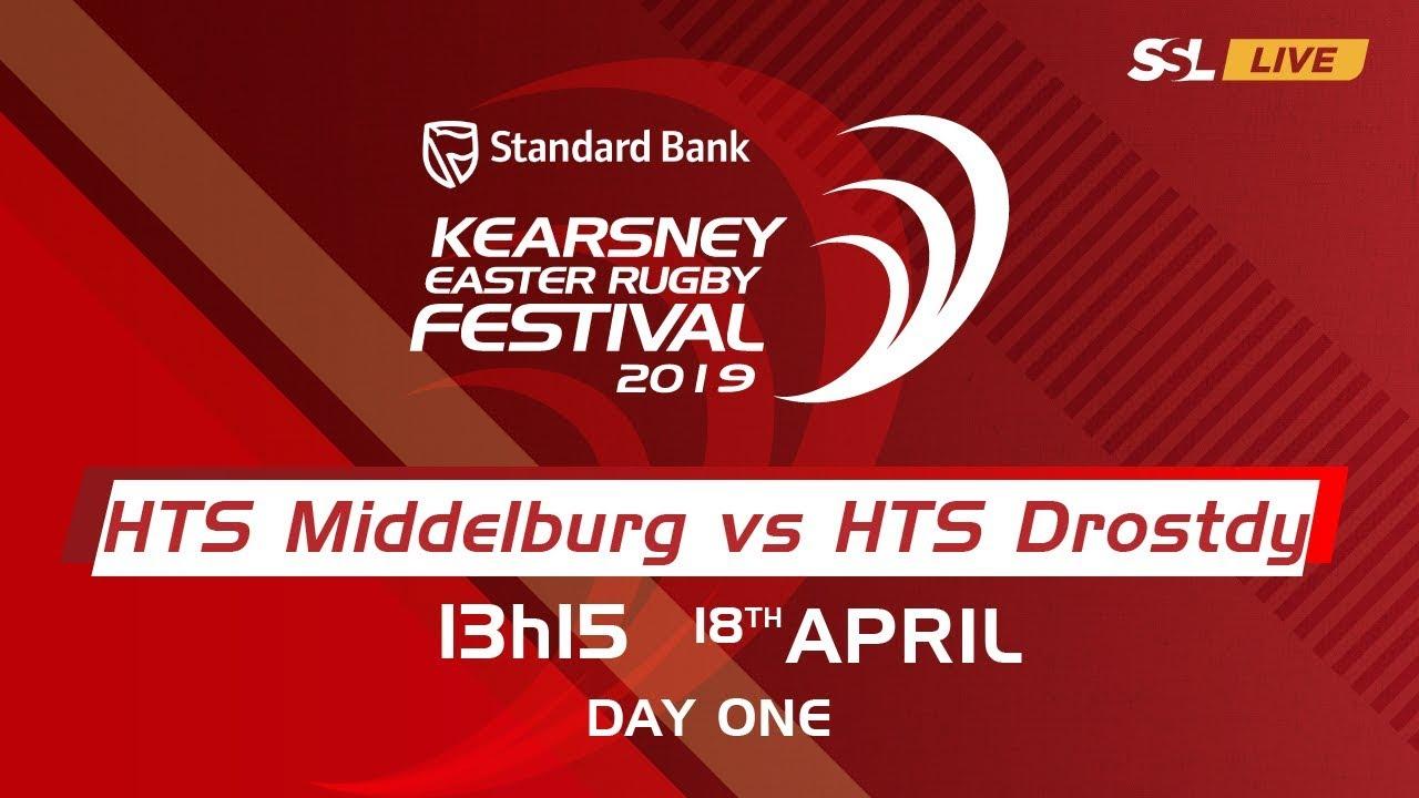 HTS Middelburg vs HTS Drostdy - Kearsney Easter Rugby Fest