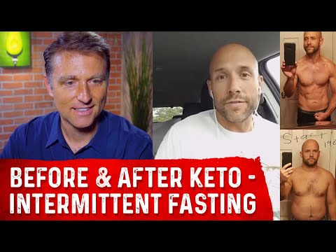 Keto-Intermittent Fasting Before & After Skye Interview Dr. Berg and Dan McGinley