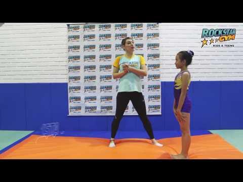 RockStar Gym Lesson #5 | Forward Roll Gymnastics