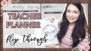 2018/2019 Teacher Planner Flip Through!