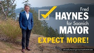2018 Fred Haynes for Mayor of Saanich