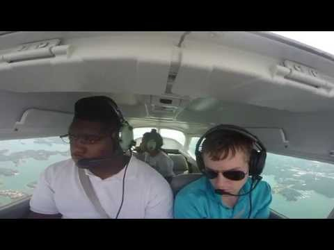 GoPro: Cessna 172 Skyhawk flight to Gilmer County Airport