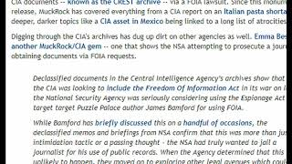 Declassified Docs Show Alphabet Gangs Trying to Prosecute Journalists Over FOIA Requests