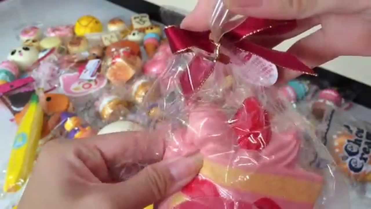Updated Squishy Collection 2015 ?? - YouTube