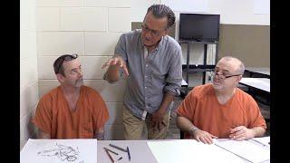 الفنان بو بارتليت شركاء مع مكتب الشريف لخلق الفن فريدة من نوعها في السجون البرنامج