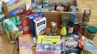 Rations for disaster situations  تخزين الطعام لحالات الطواريء