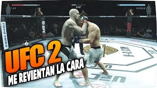 EA Sports UFC 2 | Me Destrozan La Cara | Gameplay Español | UFC 2016