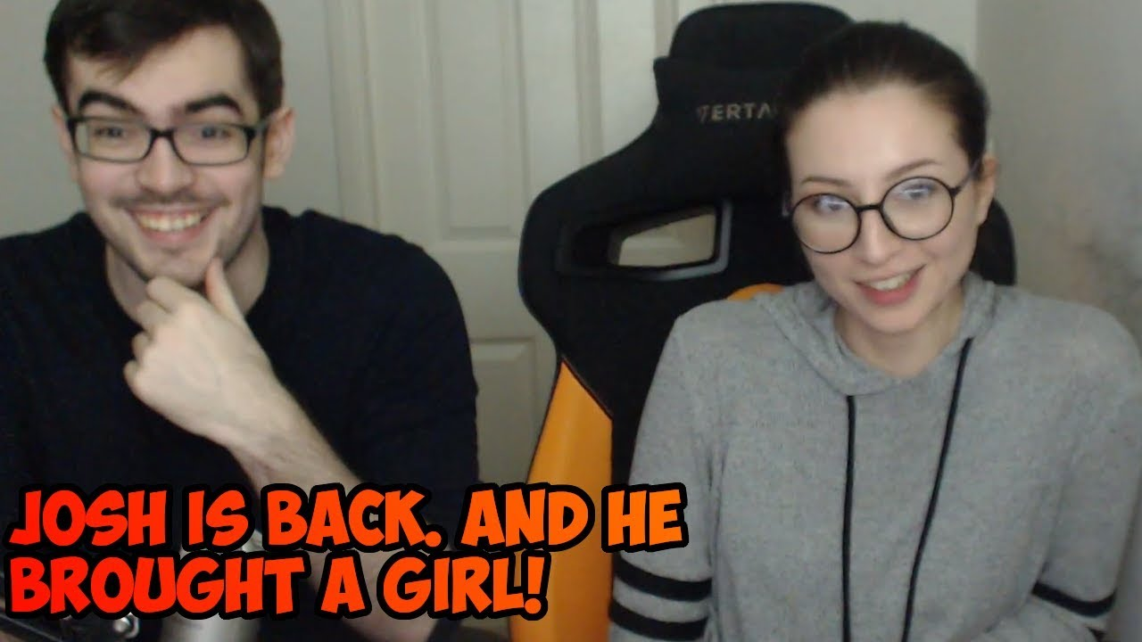 Methodjosh is back! And he brought a girl  Full vod of him introducing his  new
