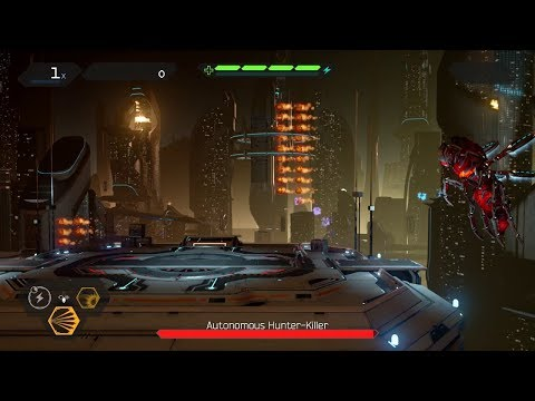 Matterfall (PS4) Gameplay (Freelance Difficulty) - Level 1: Fortuna City