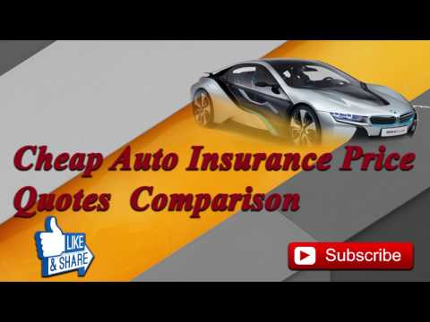 Cheap Car Insurance Quotes Compare