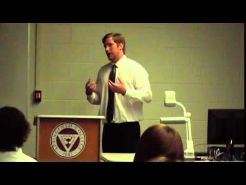 Springfield College Athletic Training presentation Matt Madison '15