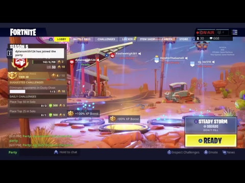 Steady Storm New On Fortnite