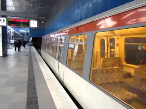 """U-Bahn Hamburg- Haltestelle """"Überseequartier"""" (U4)"""