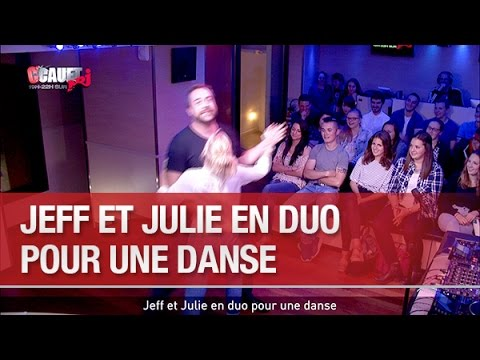 Jeff et Julie en duo pour une danse - C'Cauet sur NRJ