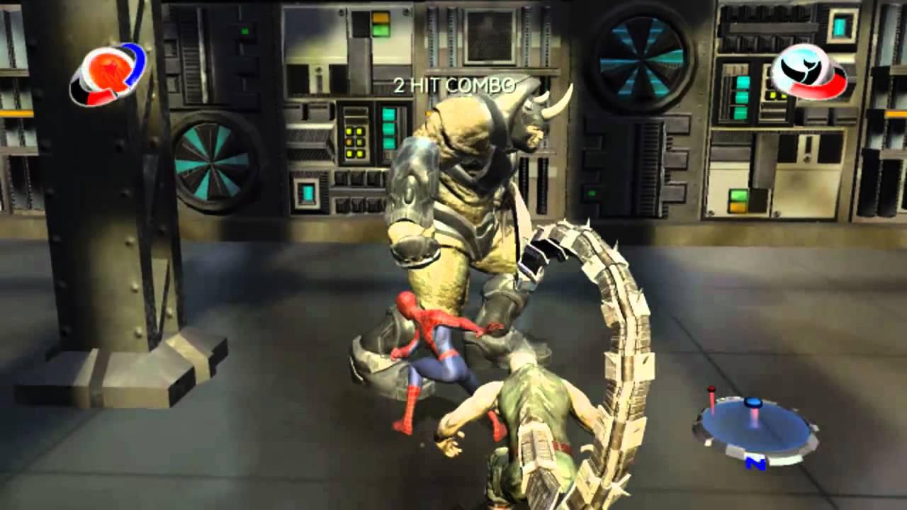 Rhino spider man 2 game