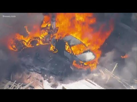 Multiple people killed after several vehicles catch fire on I-70 near Denver West